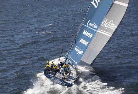 Telefónica en la Volvo Ocean Race