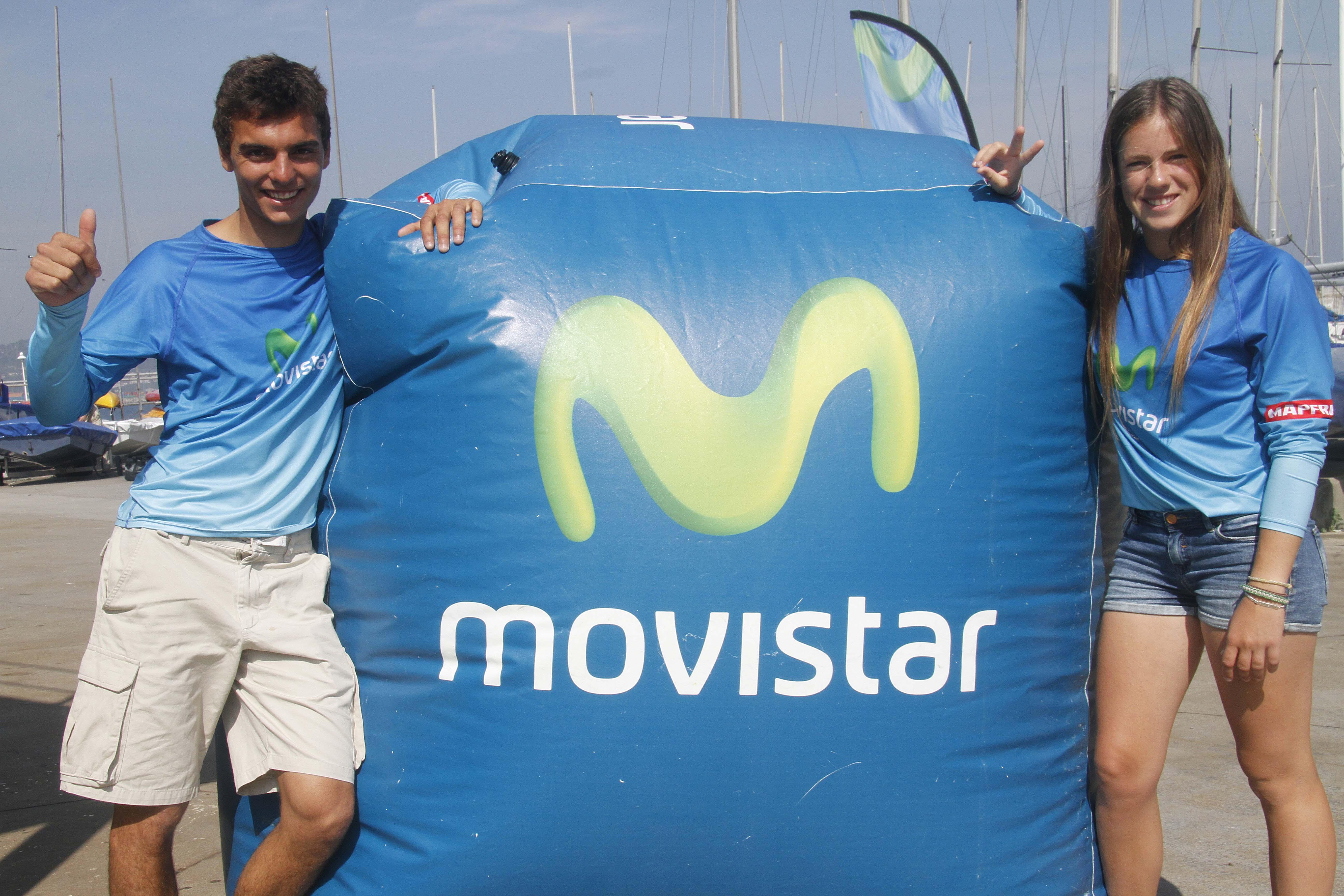 Deportistas Movistar-Jordi Xammar-Silvia Mas