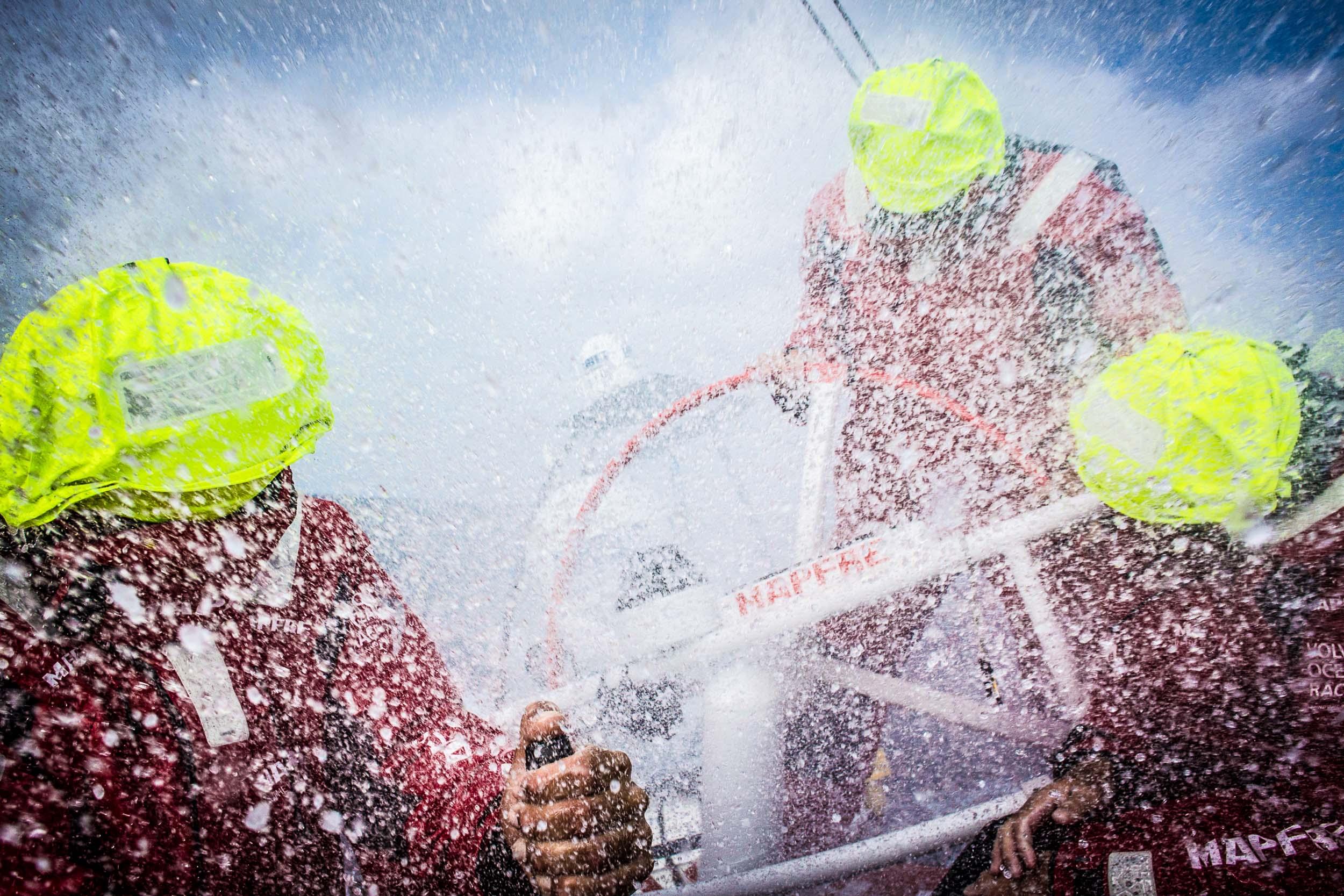 Volvo Ocean Race 2014 - 15 Leg 8 to Lorient