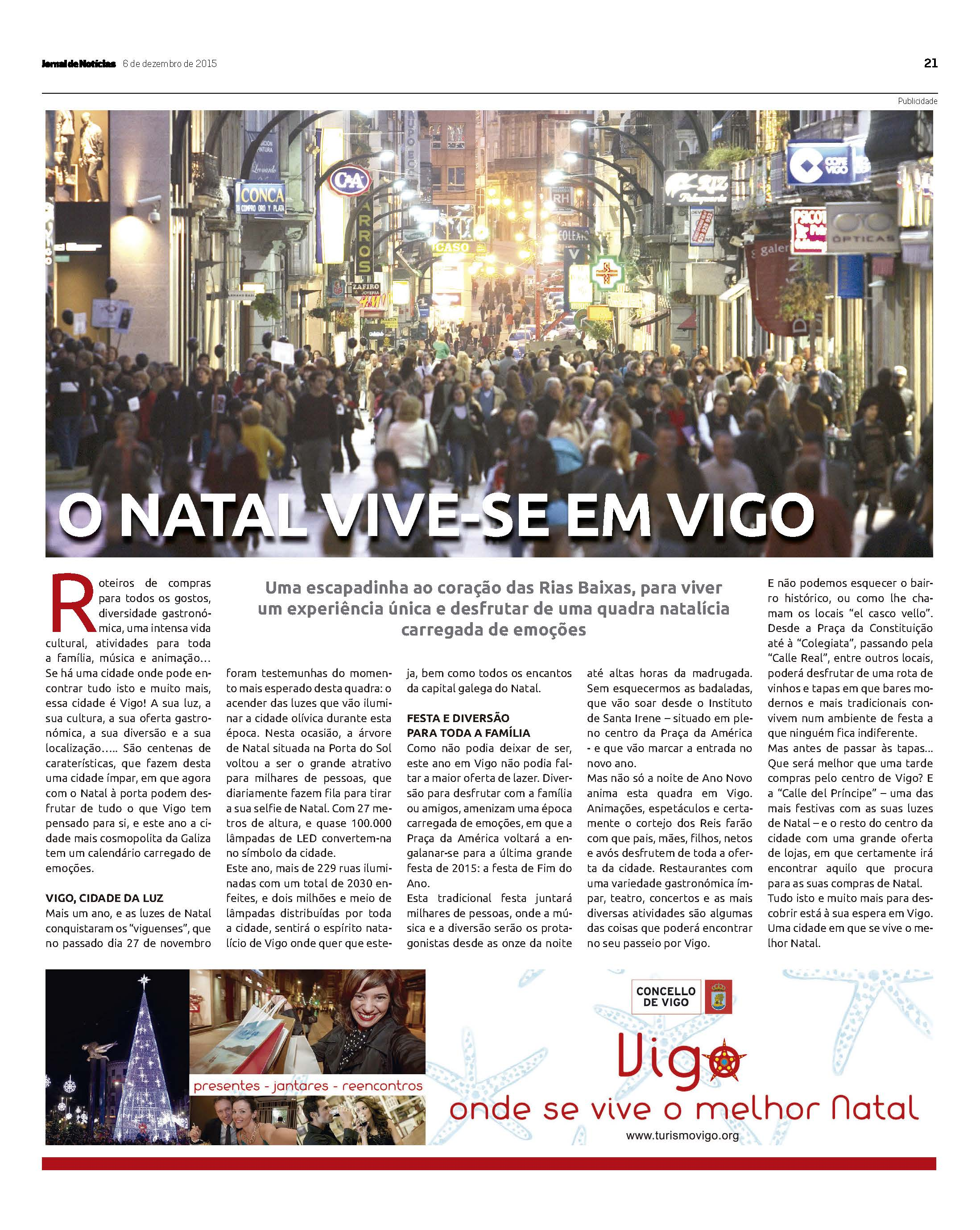 Campaña Nadal 2015 - Jornal de Noticias