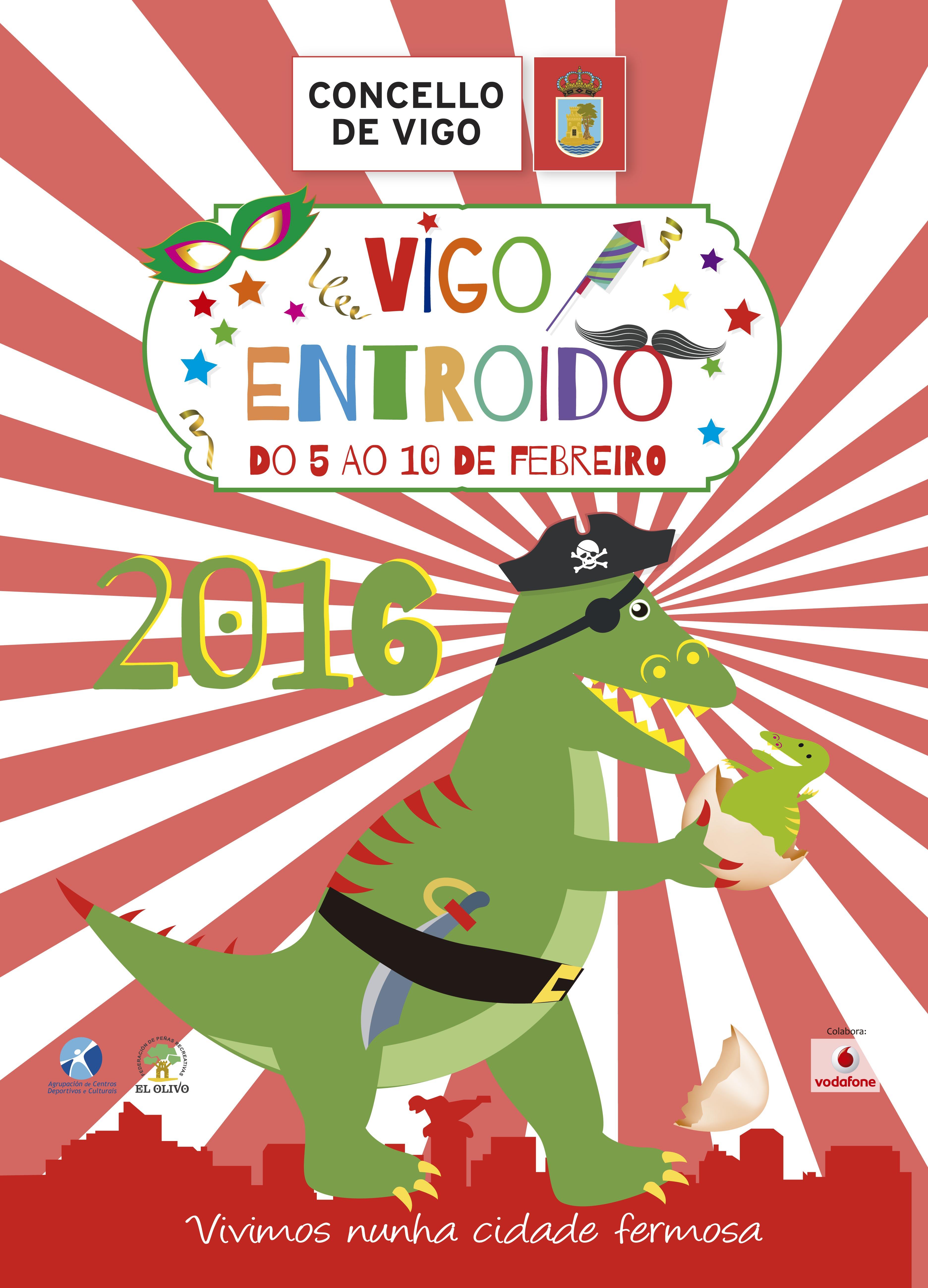 Vigo Entroido 2016 cartel