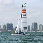 Buen comienzo de temporada para los regatistas olímpicos del Equipo Movistar