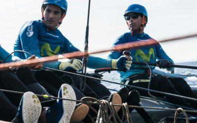 Antón Paz, con Iker en la Vuelta a Mallorca