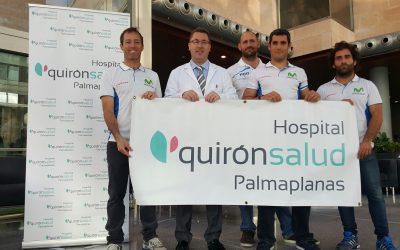 Quirónsalud, con Iker Martínez y Movistar para la Vuelta a Mallorca