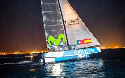 """El M32 """"Movistar"""", a ritmo de récord en la Vuelta a Mallorca"""