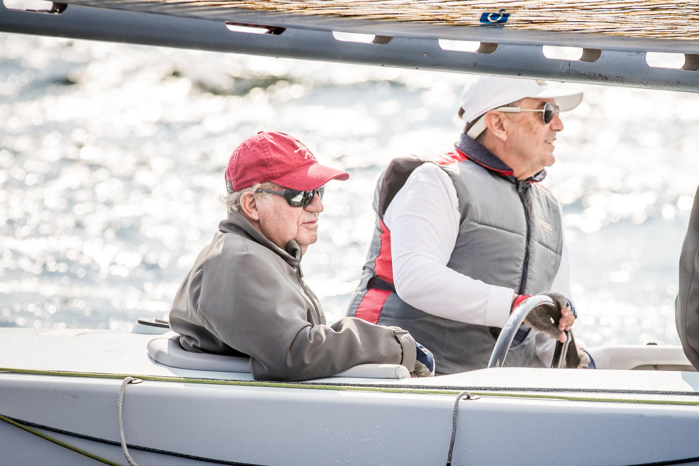 """El """"Bribon Movistar"""" de S.M. el Rey Juan Carlos, en Vancouver para el Mundial de 6M"""