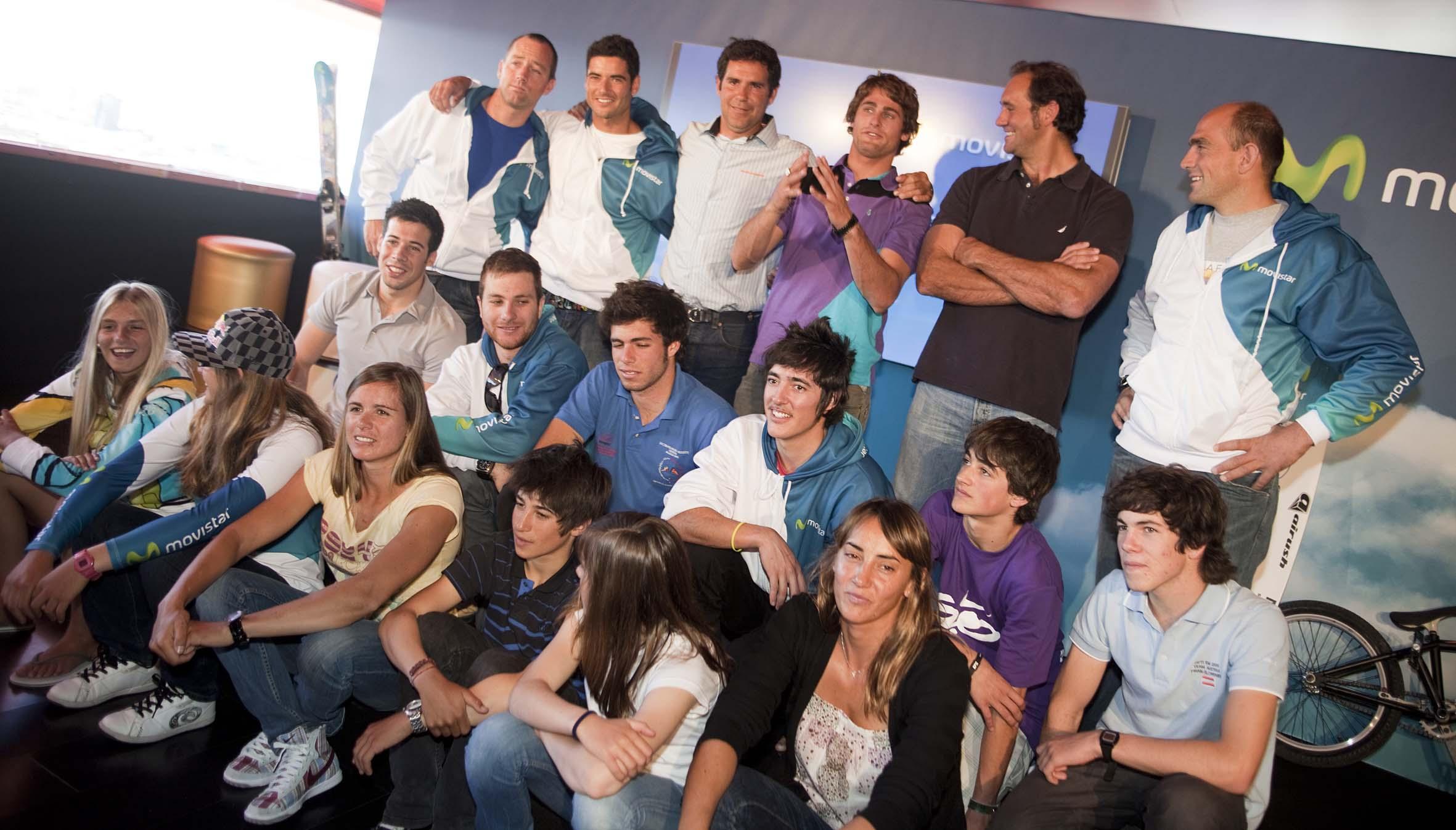 Sesión publicitaria patrocinio movistar