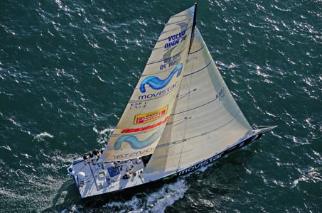 "El Volvo Open 70 ""movistar"""