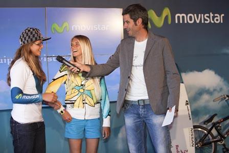 Presentación deportistas Movistar