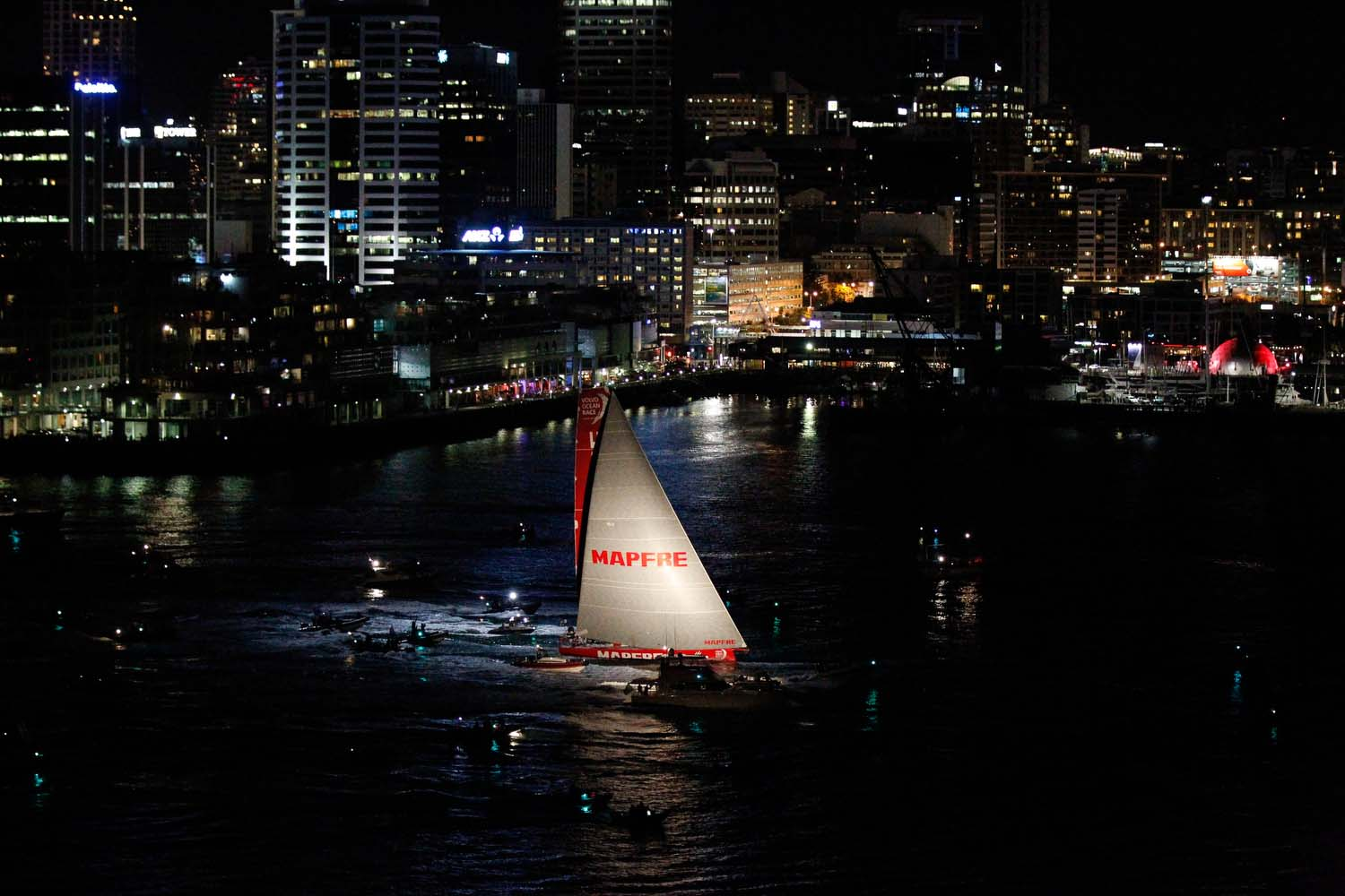 MAPFRE in the Volvo Ocean Race 7