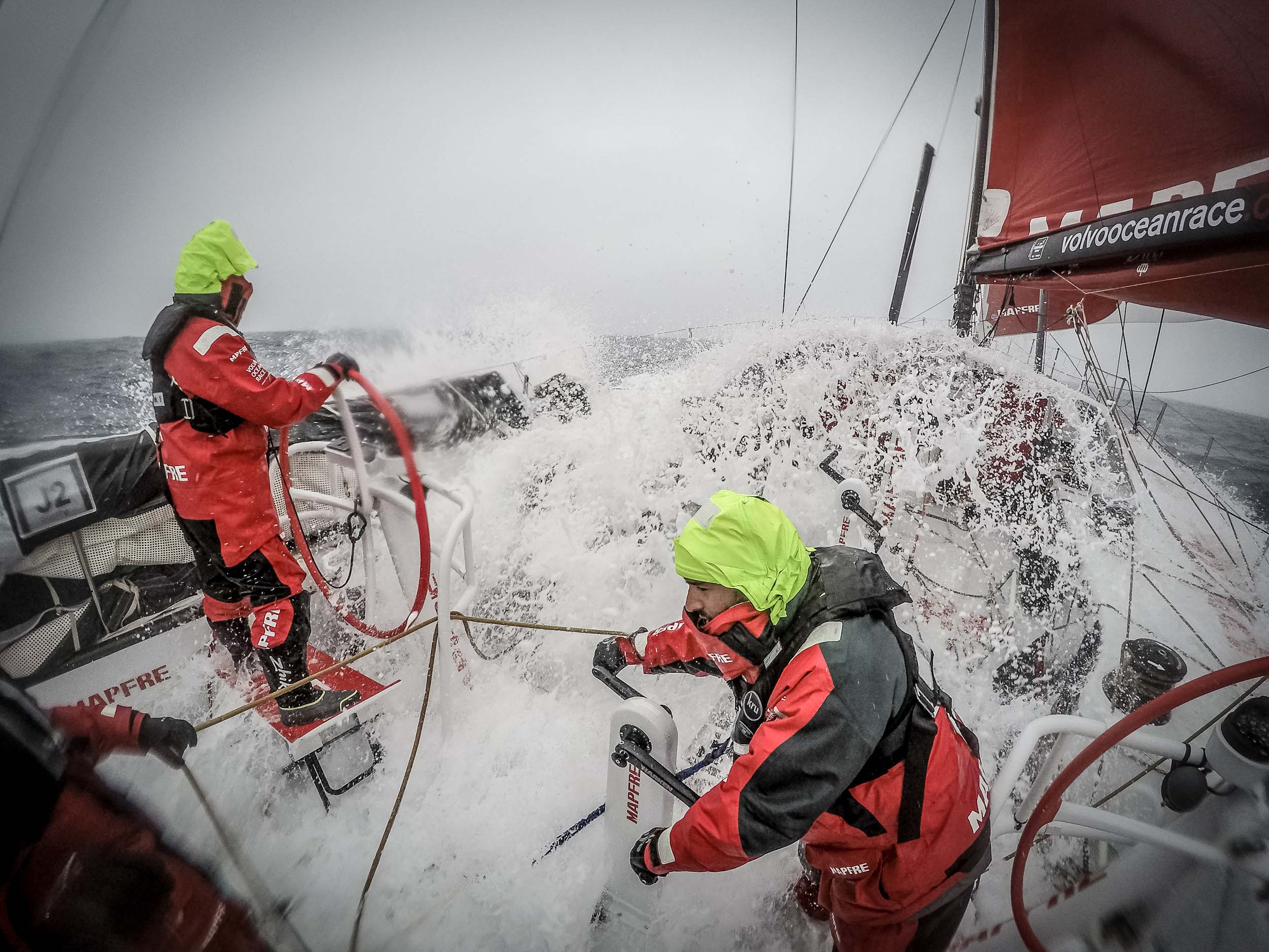 Volvo Ocean Race 2014 - 15 Leg 5 to Itajai
