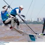 Támara Echegoyen y Berta Betanzos, sextas en el Mundial de Argentina