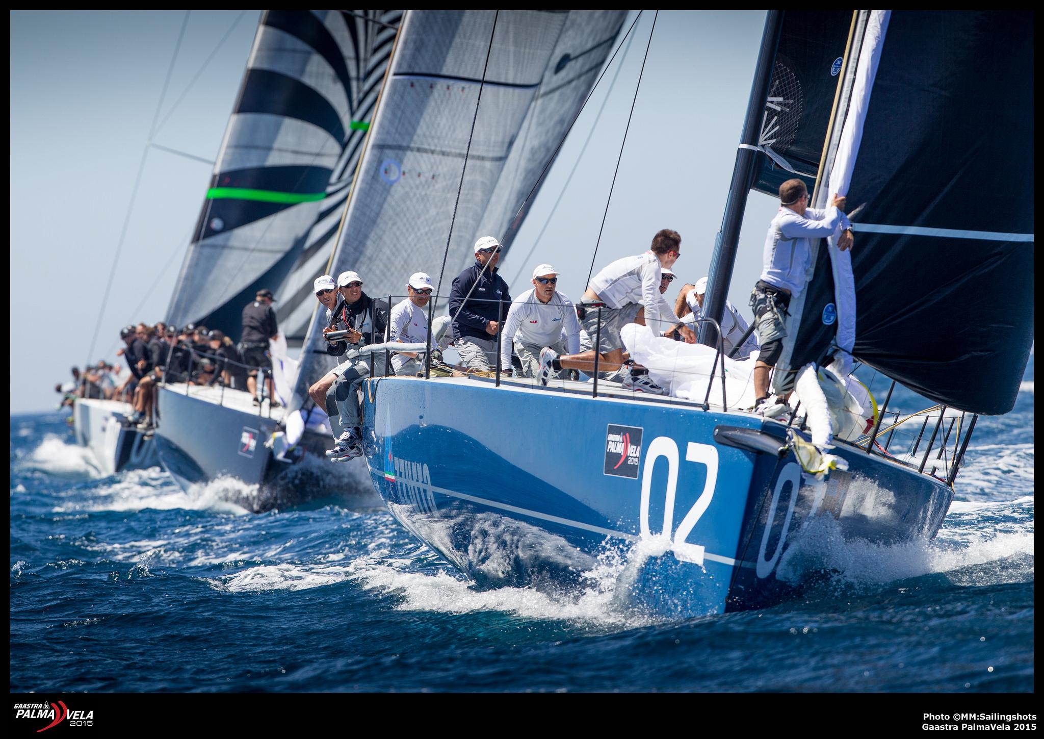 Azzura, Interlodge y Quantum se juegan mañana la victoria en TP 52 © MM Sailingshots/Gaastra PalmaVela
