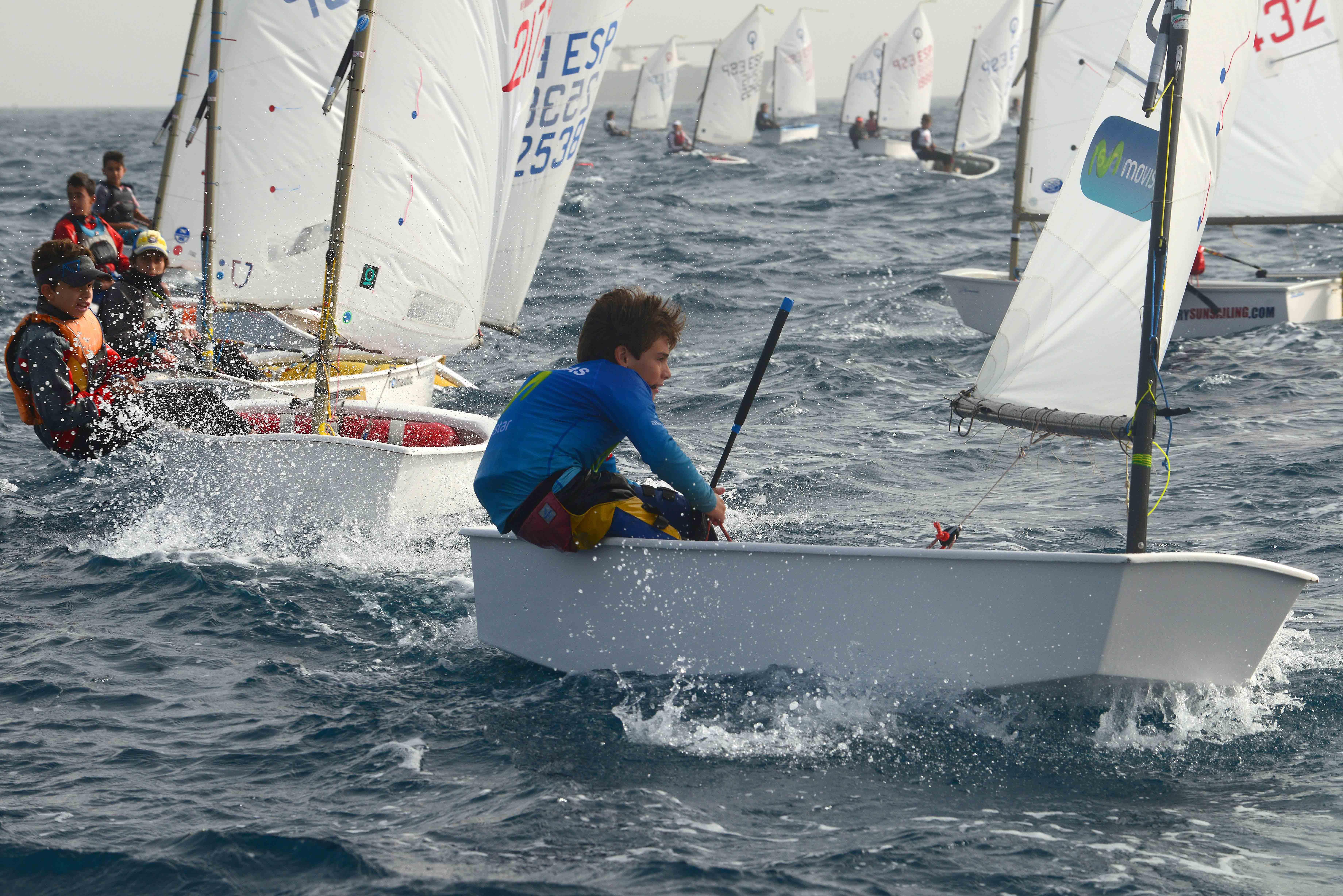 Gran actuación de Nacho Dávila en aguas de Gran Canaria