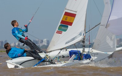 "El 470 ""Movistar"", en la recta final del Mundial"