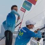"""Buen comienzo del 470 """"Movistar"""" en el Mundial de Argentina"""