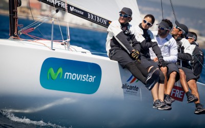 "El ""Bribon Movistar"", a confirmar el podio del Trofeo Akewuele"