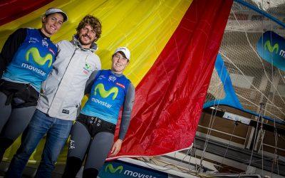Támara y Berta, en la Sailing World Cup de Weymouth