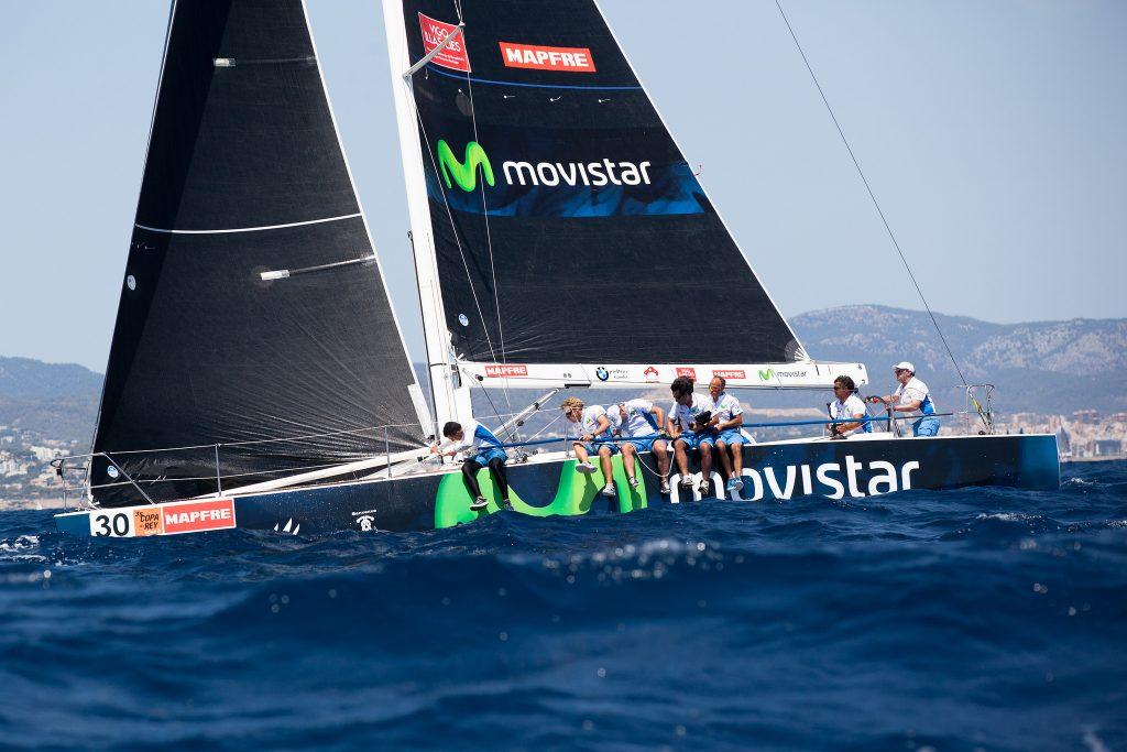 """El """"Movistar"""" en su última competición hasta la fecha © María Muiña/Copa del Rey MAPFRE"""