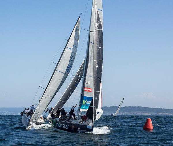 El Movistar, en aguas de A Coruña