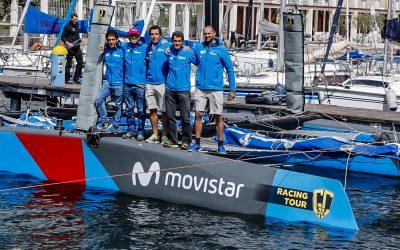 """Iker Martínez y su """"I´M Racing Movistar"""" se unen a los catamaranes """"voladores"""" GC32"""
