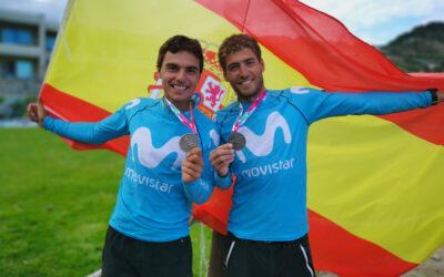 Jordi y Nico, ¡subcampeones de Europa!
