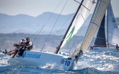 """El J80 """"Bribon Movistar"""", subcampeón del mundo en aguas de Getxo"""