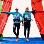Oro y plata para Marina y Blanca Alabau en el Azores Windsurf Foil Open Challenge