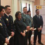 Carlos Agra, coordinador del Real Club Náutico de Sanxenxo, recibe la Medalla de Bronce con Distintivo Azul al Mérito de la Protección Civil