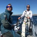 Natalia e Iker lideran el Europeo Mixto Offshore