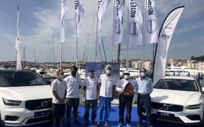"""""""Bribon 500"""" y """"Seljm"""", vencedores de la Volvo Autesa Cup en Sanxenxo"""